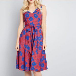 ModCloth Timeless Magnetism Dress w/ Back Cut out